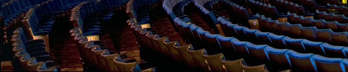 photo of cinema seats to illustrate cinema seat and carpet cleaning services offered by DRI Emergency Response